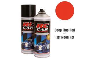 RC Color Lexan Spray Fluo Dunkel Rot