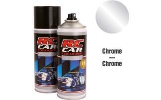 RC Color Lexan Spray Chrome