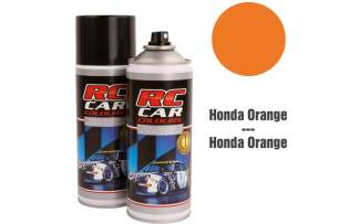 RC Color Lexan Spray Honda Orange