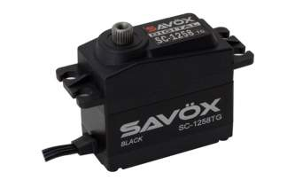 Savöx SC-1258TG Black Edition Digital Servo