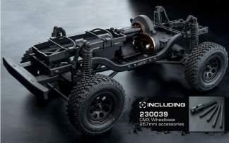MST CMX 4WD Crawler Kit Mittelmotor