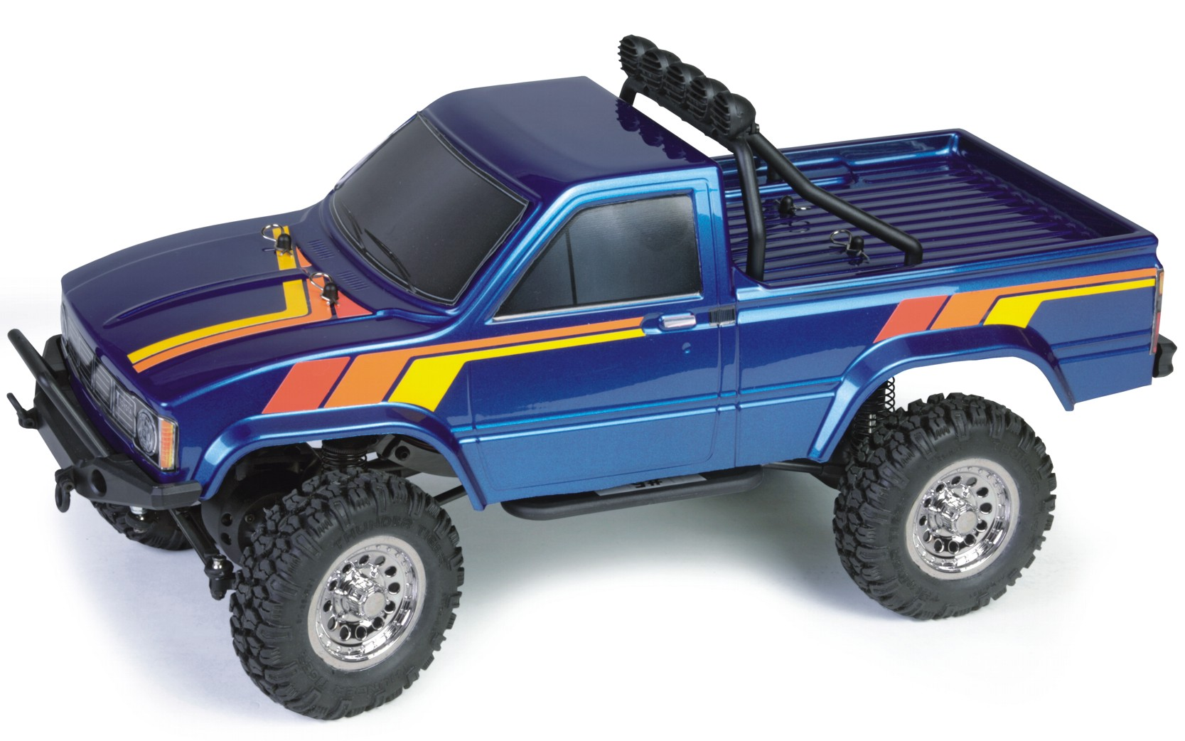 thundertiger toyota hilux pick up truck 4wd rtr blau. Black Bedroom Furniture Sets. Home Design Ideas