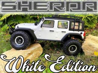 Absima SHERPA CR3.4 Crawler White Edition RTR